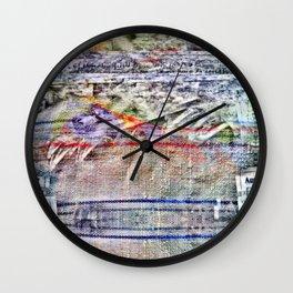 Low tow humor deflector. Wall Clock