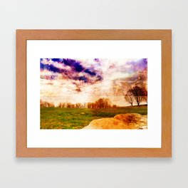 Mountain Meadow Framed Art Print