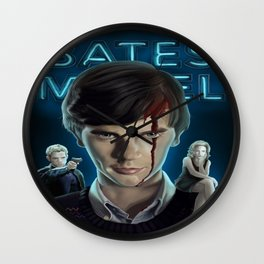 Bates Motel Promotional Image Wall Clock