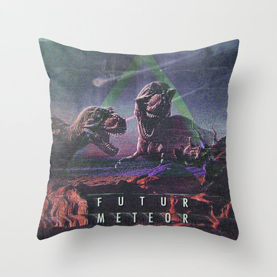 MYSTIC//DINO Throw Pillow