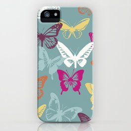 Butterfly Love iPhone Case