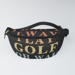 Golf Gift Fanny Pack