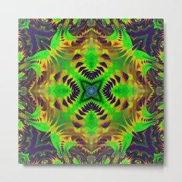n3 Neu Psychedelic Metal Print