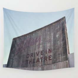 Drive-In Movie Theatre Wall Tapestry