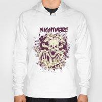 nightmare Hoodies featuring Nightmare by Tshirt-Factory