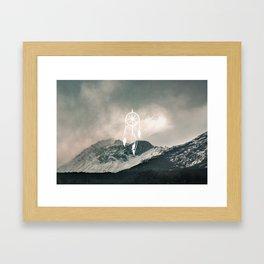 Dreamcatch you Framed Art Print