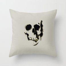 skull #06 Throw Pillow