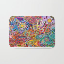 Kaleidoscope of All Possibilities Bath Mat