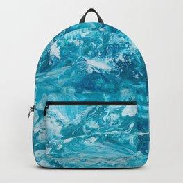 GALATHI Turquoise texture Backpack