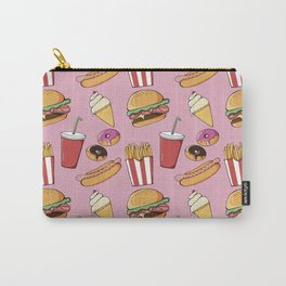 Fast-Food (pink) Carry-All Pouch
