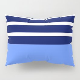 Summer Patio Perfect, Blue, White & Navy Pillow Sham