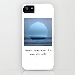 mein herz iPhone Case