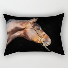 horse collection. arabian bay Rectangular Pillow