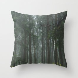 Forest#1 Throw Pillow