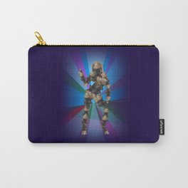 Sexy pump 3. On multicolored background (Predominance of violet) Carry-All Pouch
