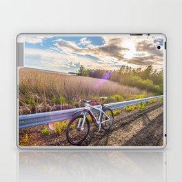 Mountain Bike in the Sun Laptop & iPad Skin