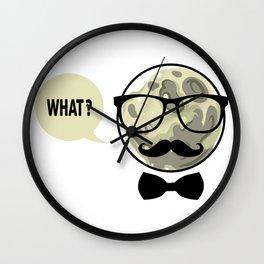 Moon - What? Wall Clock