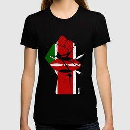 Team Kenya Flag Shirt T-shirt