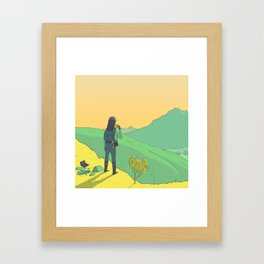 The Journey Framed Art Print