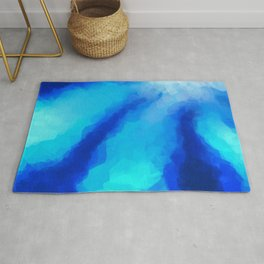 Tropical Sea Flower Rug