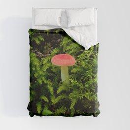 Lonely Mushroom Duvet Cover