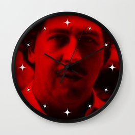 Pablo Escobar - Celebrity (Photographic Art) Wall Clock