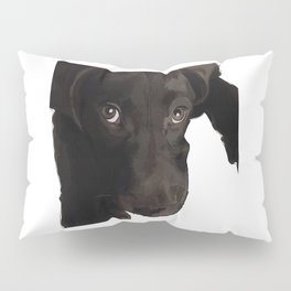 Labrador Puppy Dog (chocolate) Pillow Sham
