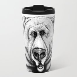 A big, cuddly, grizzly bear! Travel Mug