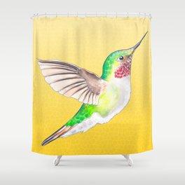 Hummer Yellow Shower Curtain