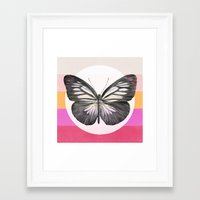 eric fan Framed Art Prints featuring Flight by Eric Fan & Garima Dhawan by Garima Dhawan
