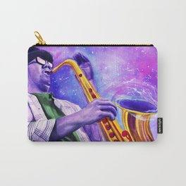 The sound of a blackhole, resonates in B flat. Carry-All Pouch