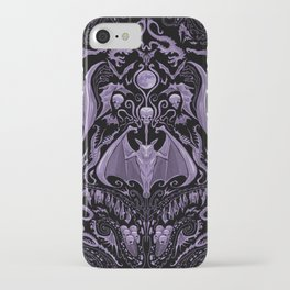 Bats and Beasts - ROYAL PURPLE iPhone Case