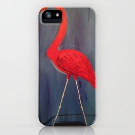 Floridian Flamingo  iPhone Case