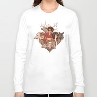 marauders Long Sleeve T-shirts featuring The Marauders by Susanne