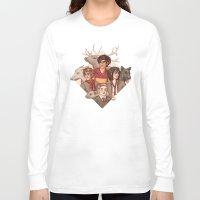 marauders Long Sleeve T-shirts featuring The Marauders by Susanne