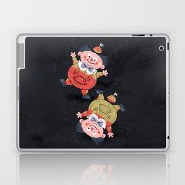 Tweedledee and Tweedledum - Alice in Wonderland Laptop & iPad Skin