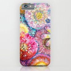 Flowered Table iPhone 6 Slim Case
