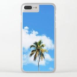 35. Palm tree in Cuba, Cuba Clear iPhone Case