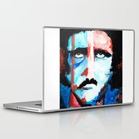 poe Laptop & iPad Skins featuring Poe by J. John Whitmore