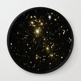 Distant galaxies, Abell 1703. Wall Clock
