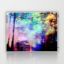 psychedelic in caribbean Laptop & iPad Skin