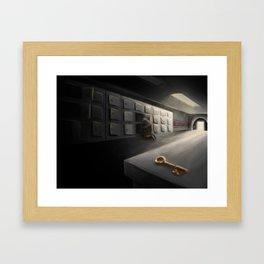 SCP-005 Skeleton key Framed Art Print