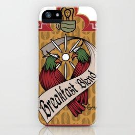 Breakfast Blend iPhone Case
