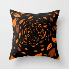 In The Leaves Throw Pillow