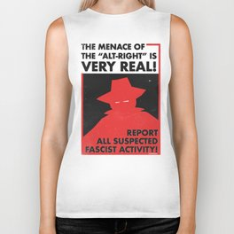 The Menace of the Alt-Right is Very Real! Biker Tank