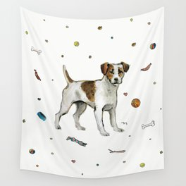 playful jack Wall Tapestry