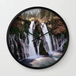 Burney Falls Panorama Wall Clock