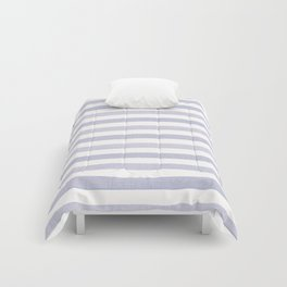 Blue n White Stripe Comforters