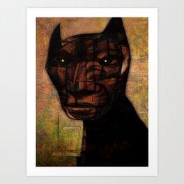 Lucifer Sam Art Print
