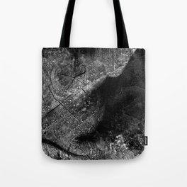 Alien Ultrasound Tote Bag